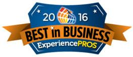 2016 Best in Business - Experience Pros